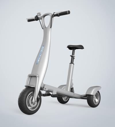 现代滑板车电动车 小型折叠车 代驾车 单人随身车