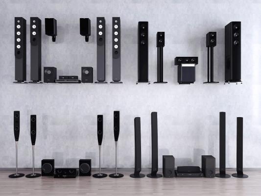 现代音响设备