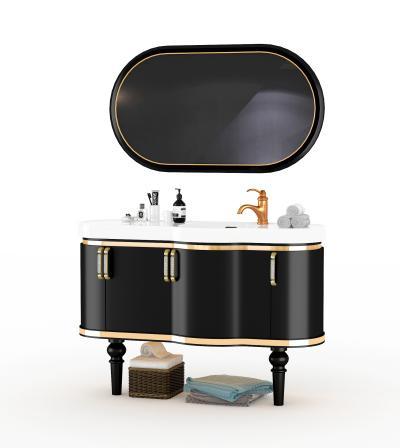 新中式浴室柜
