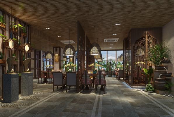 东南亚自助餐厅