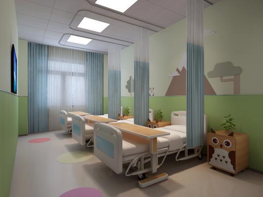 现代医院儿童病房