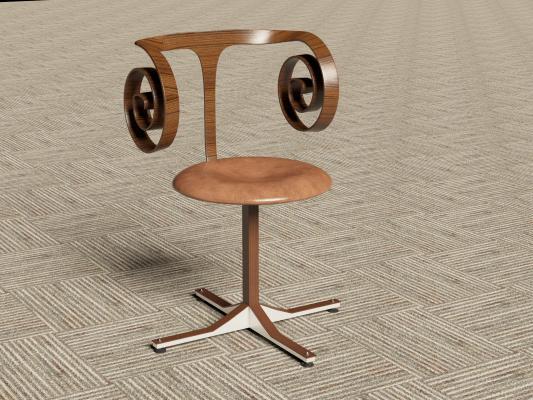 美式吧台椅