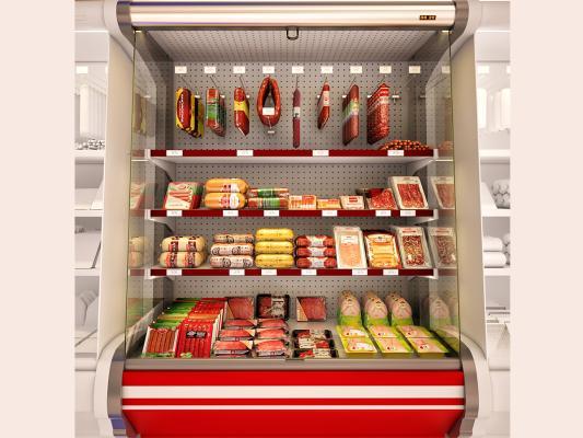 现代超市冷冻柜