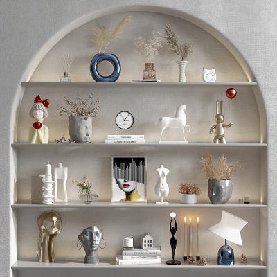 現代花瓶雕塑,工藝品擺件