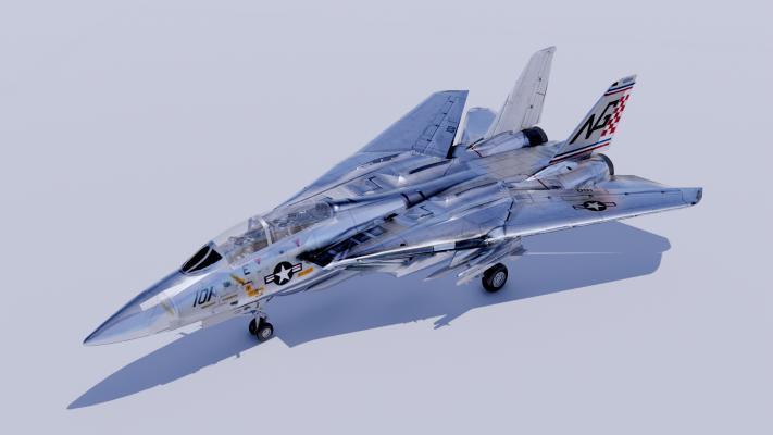 现代军事F14 战斗机