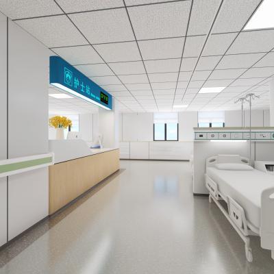 现代医院 护士站 病床