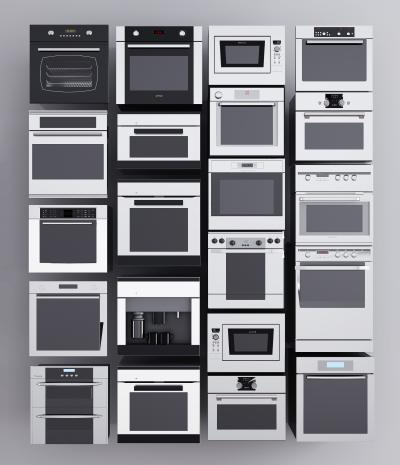 现代烤箱 微波炉 洗碗机