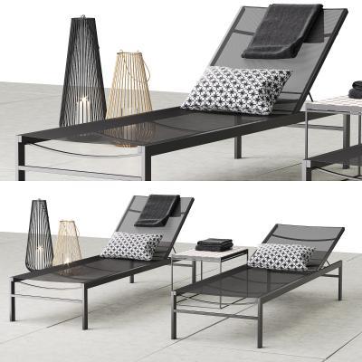 现代沙滩躺椅 阳光椅