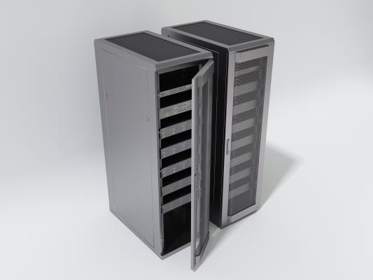 现代机房机箱 金属不锈钢机箱 大型金属弱电箱