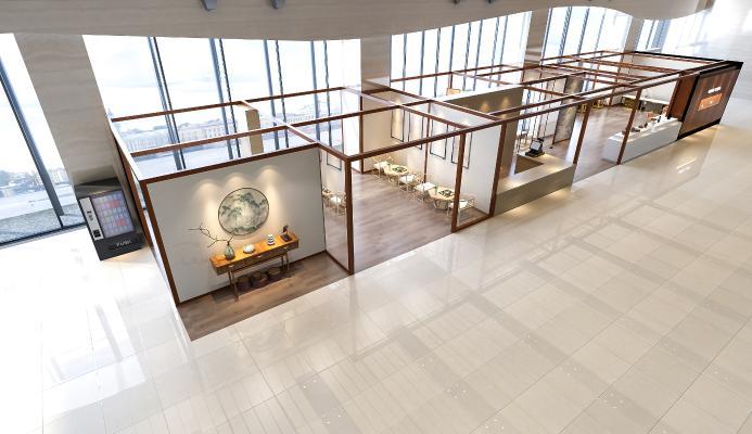 新中式博物馆 展览馆