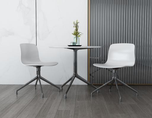 现代休闲桌椅 户外桌椅组合