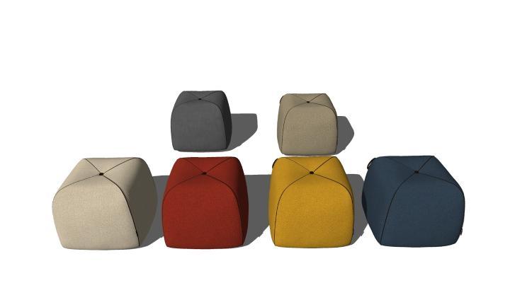 现代风格休闲凳