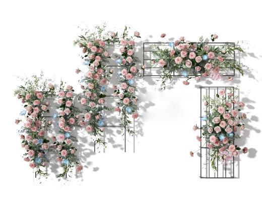 現代花藝花卉 植物 綠植