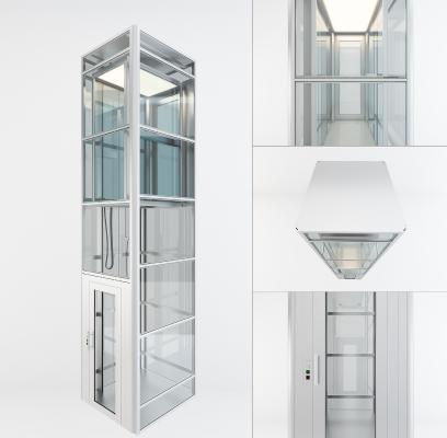 现代观光升降电梯
