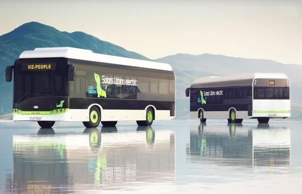 现代公交车