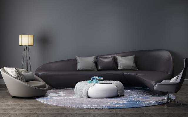 现代异形沙发