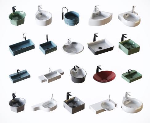现代北欧洗手盆