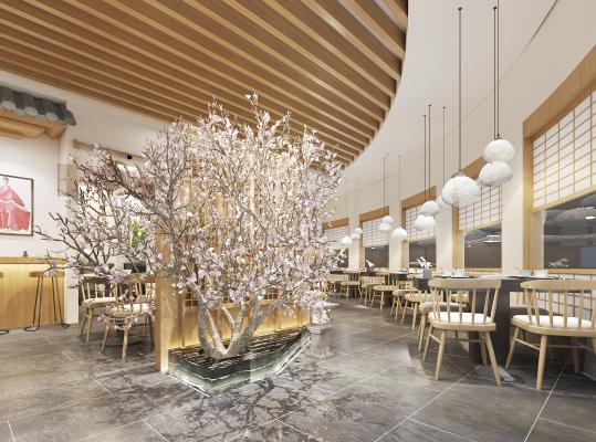 日式餐厅 餐馆吊灯