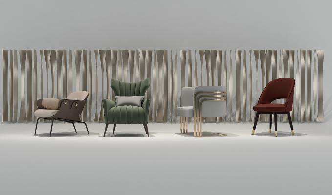 后现代休闲椅