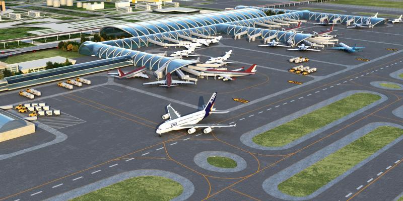 现代机场 成都机场