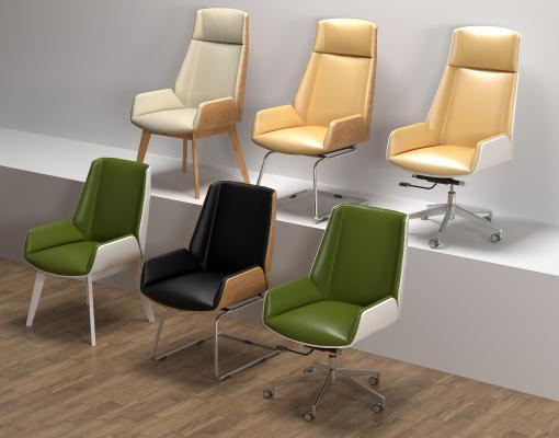 现代时尚办公椅 经理椅 电脑椅