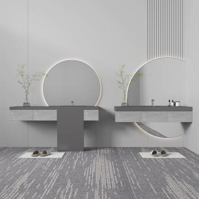 现代浴室柜架
