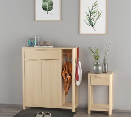 現代簡約鞋柜