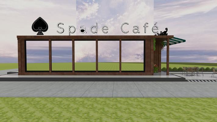 工业风集装箱咖啡厅