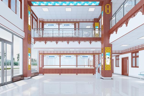 新中式医院 医馆 药房