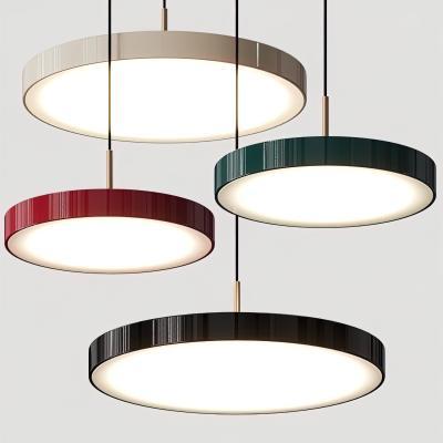 现代金属圆形吊灯