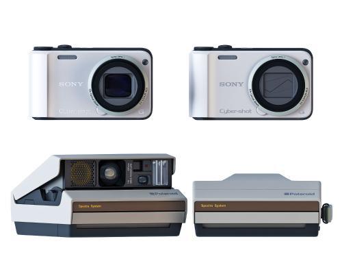 现代电子产品 相机组合