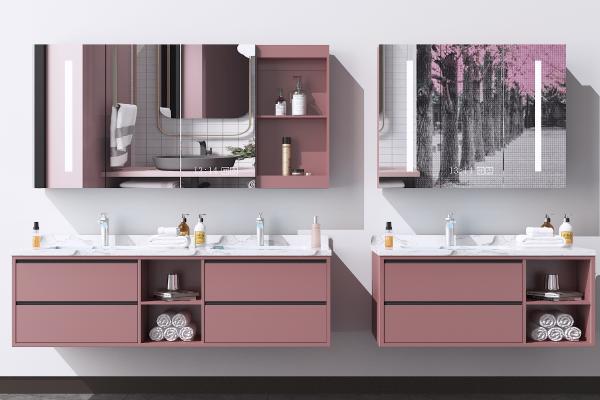 现代洗手台 浴室柜 洗面盆