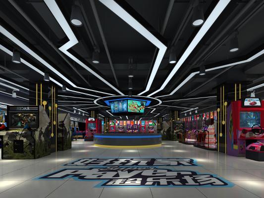 现代娱乐城游戏厅