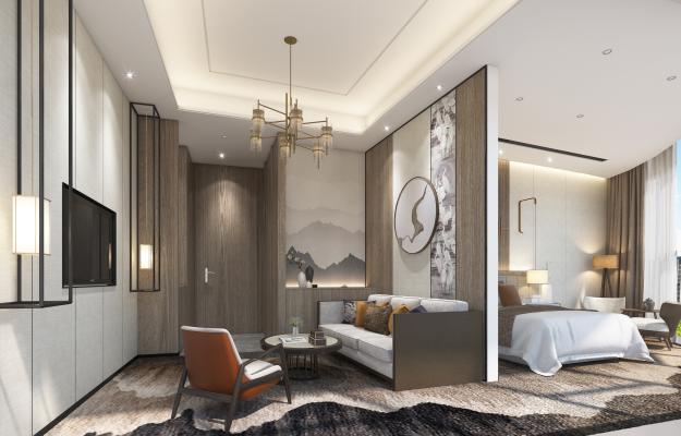 新中式酒店套间