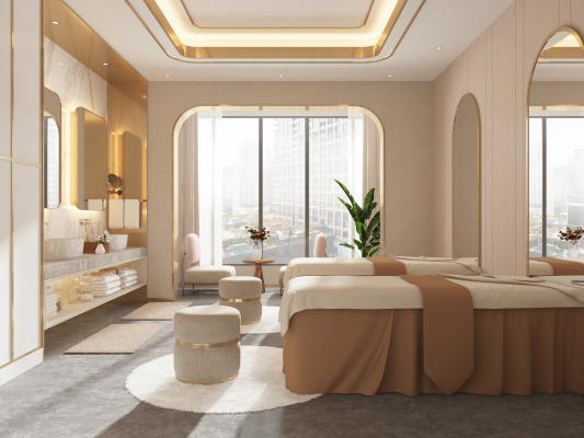 现代美容院 SPA护理房