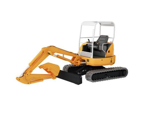 现代挖掘机 挖土机 推土机