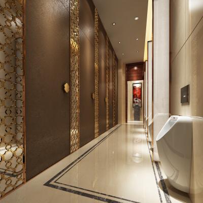 新中式酒店卫生间