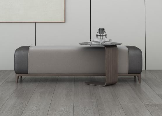 现代风格沙发凳 长凳 床尾凳
