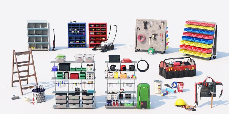 現代工具 工具箱 貨架