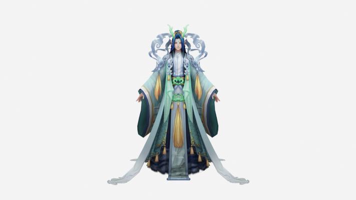 现代游戏角色 圣母美女
