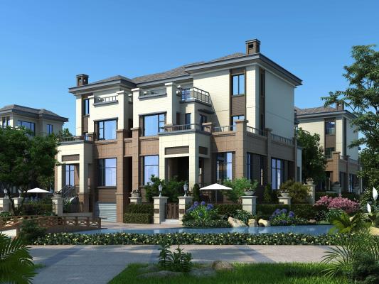 新古典联排别墅