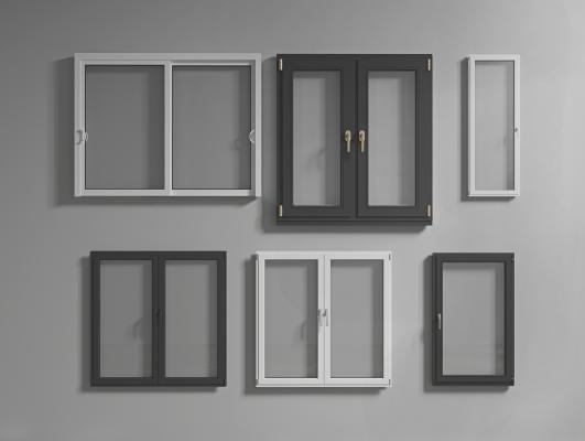 現代門窗組合