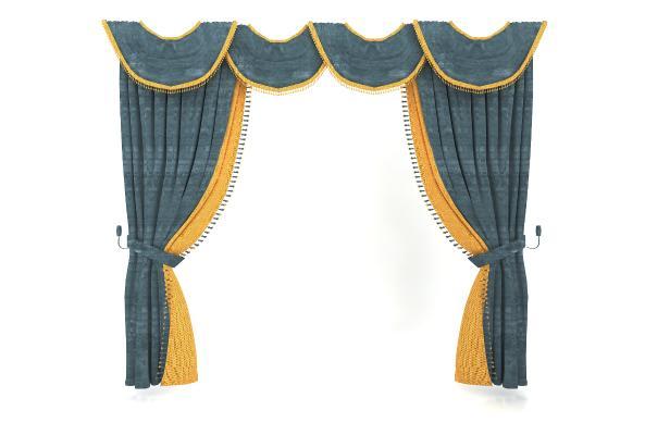 歐式風格窗簾