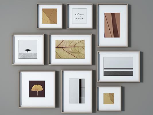 現代裝飾畫_掛畫,照片墻,畫框