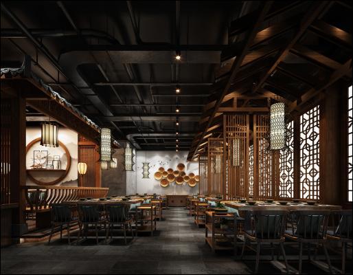 中式餐厅 自助餐厅