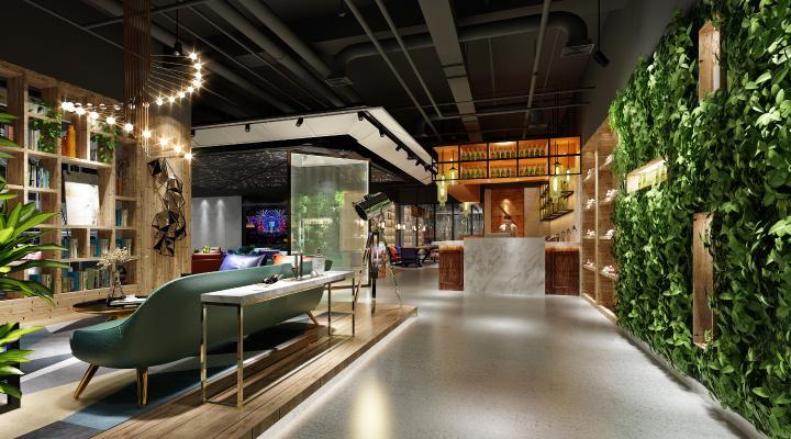 现代咖啡厅