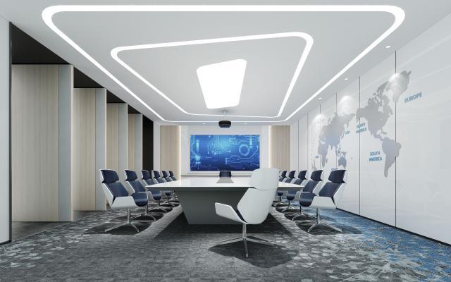 現代辦公会议室