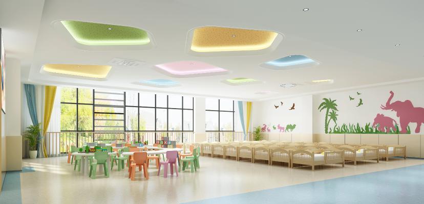 现代幼儿园教室