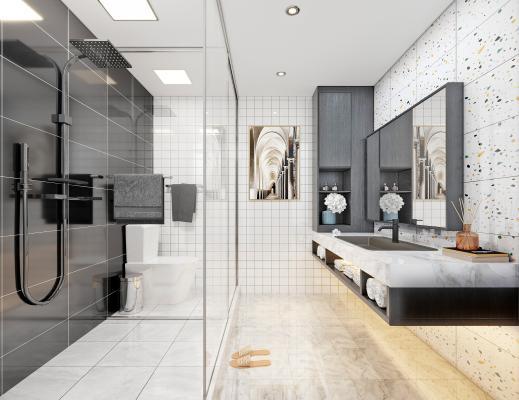 现代卫浴卫生间