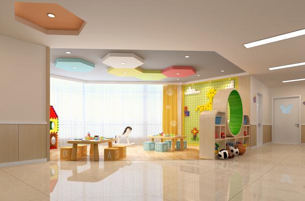 现代幼儿园 建构室